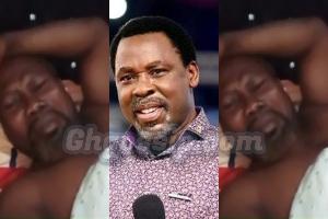 Ayitey Powers cried over T.B Joshua's death