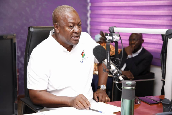 Our country is heading in a wrong direction - Mahama