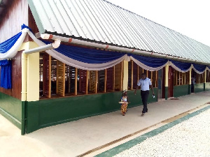 A modern kindergarten constructed by Tullow Ghana Limited