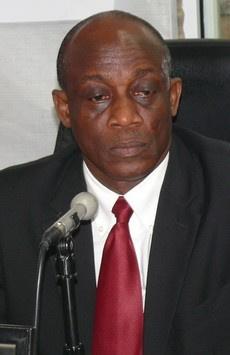 Former finance minister Seth Terkper