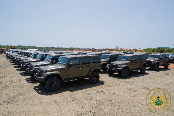 Ghana Army gets 60 new vehicles, US$24.8 million housing project to follow