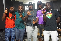 Ras Kuku with Rootikal Swagger and the other artistes