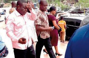 Flashback: Richard Lassey Agbeyefia at the court