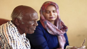 Amin Israel, the grandson of an Iraqi Jew who settled in Sudan