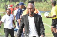 Liberty Professionals coach, David Ocloo