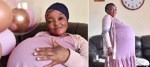 Gosiame Thamara Sithole, the alleged record breaking mom