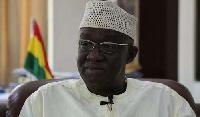 Minister for Aviation, Joseph Kofi Adda
