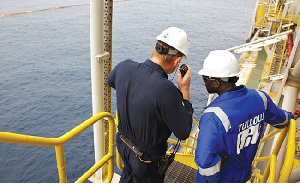 With the activation of the new wells, Tullow expects to generate 180,000 barrels of oil a day
