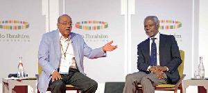 Mo Ibrahim Kofi Annan Sop