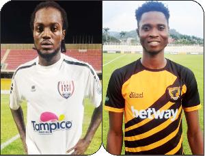 Richmond Lamptey and Isaac Opoku Agyemang