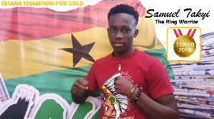 Samuel Takyi will compete at the Olympic games