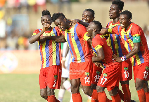 Hearts occupies the third position with 44 points.