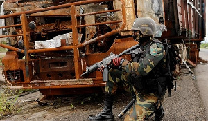 Cameroon soldiers have been accused of rights abuse in the raging 'anglophone war'