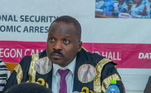 Speaker of Youth Leadership Parliament Ghana, Rt. Hon. Kobby Fabian