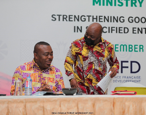 Be shareholders of public entities, make them profitable – Joseph Cudjoe to heads of SOEs