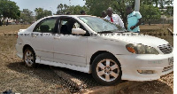 The vehicle in which the Lebanese man's was travelling in during the attack by the robbers