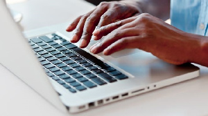 Cyber attackers can detect one's password. File photo