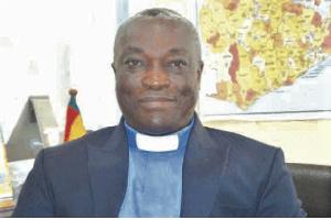 Rev. Emmanuel Barrigah, General Secretary of the Ghana Pentecostal and Charismatic Council (GPCC)