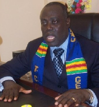 General Superintendent of Assemblies of God Rev. Prof. Paul Frimpong-Manso