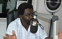 An aspiring National Chairman of the NPP, Dr Richard Amoako Baah