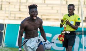 Berekum Chelsea's Stephen Amankona