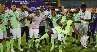 Ighalo slotted home the only goal of the game