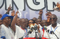 Nana Addo Danquah Akufo Addo with other NPP members