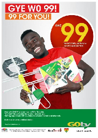 The Gotv Plus decoder, is now GHC99 against the previous price of GHC 175