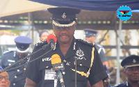 DCOP Dr Iddi Musah, Medical Director at the Ghana Police Hospital