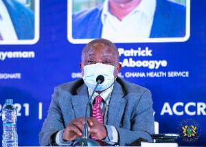 Minister for Health, Kwaku Agyeman-Manu