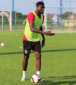 Ghanaian midfielder, Nasiru Moro