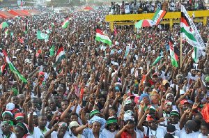 Ndc Supporters Rally New