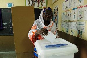 Ivory Coast Voter
