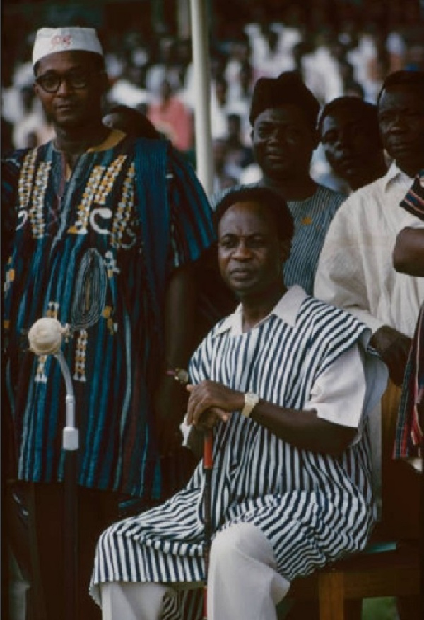 You'll want to see this rare coloured photograph of Kwame Nkrumah. 48