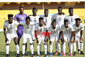 Ghana lost five 5-6 on penalties to South Africa