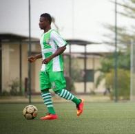 Vision FC attacker Samuel Adjetey