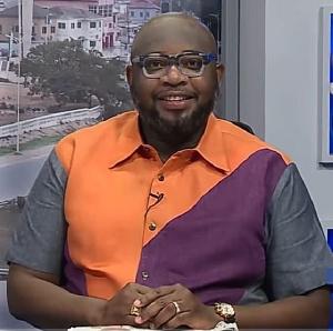 Randy Abbey, host of Good Morning Ghana