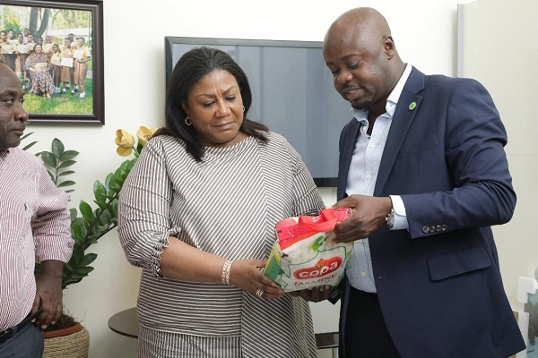 First Lady supports Ghana rice consumption
