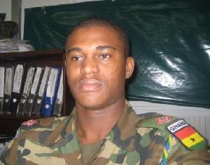 Late Captain Maxwell Adam Mahama11