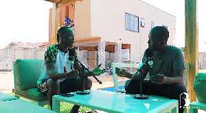 Emmanuel Boateng sharing his story with Blagogee