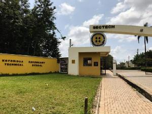 The main entrance of the Koforidua Secondary Senior High School