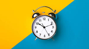 A file photo of a clock