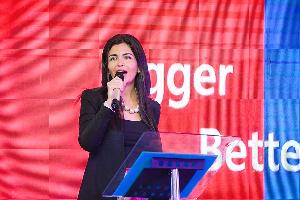 Chief Executive Officer of the telecom company, AirtelTigo, Roshi Motman