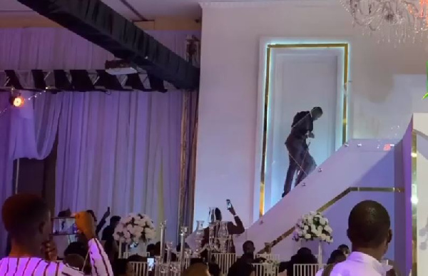 The glamour, surprises: Here's what you missed at Despite's son's wedding reception