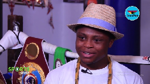 Dogboe says he hopes to help his father pay off the many debts accrued over the years