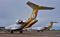 The national carrier Uganda Airlines has resumed regional flights (Getty Images)