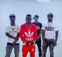 Shatta Wale and his crew