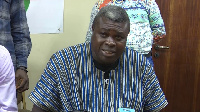 President of the Ghana Amateur Boxing Association, George Lamptey