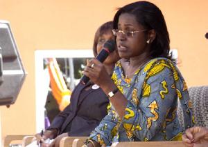 NPP Planning Committee Chairperson, Oboshie Sai-Cofie