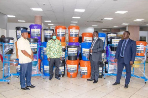 The Ministry will deploy the buckets to needy communities & areas of need